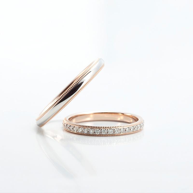 ポンテヴェキオ結婚指輪(マリッジリング) ミルアモーレ画像