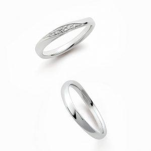 ロイヤルアッシャー結婚指輪(マリッジリング) WRA027・WRB037