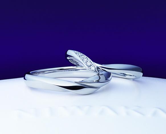 俄(にわか)結婚指輪(マリッジリング) 初桜(ういざくら)画像