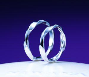 俄(にわか)結婚指輪(マリッジリング) 禅の輪(ぜんのわ)画像