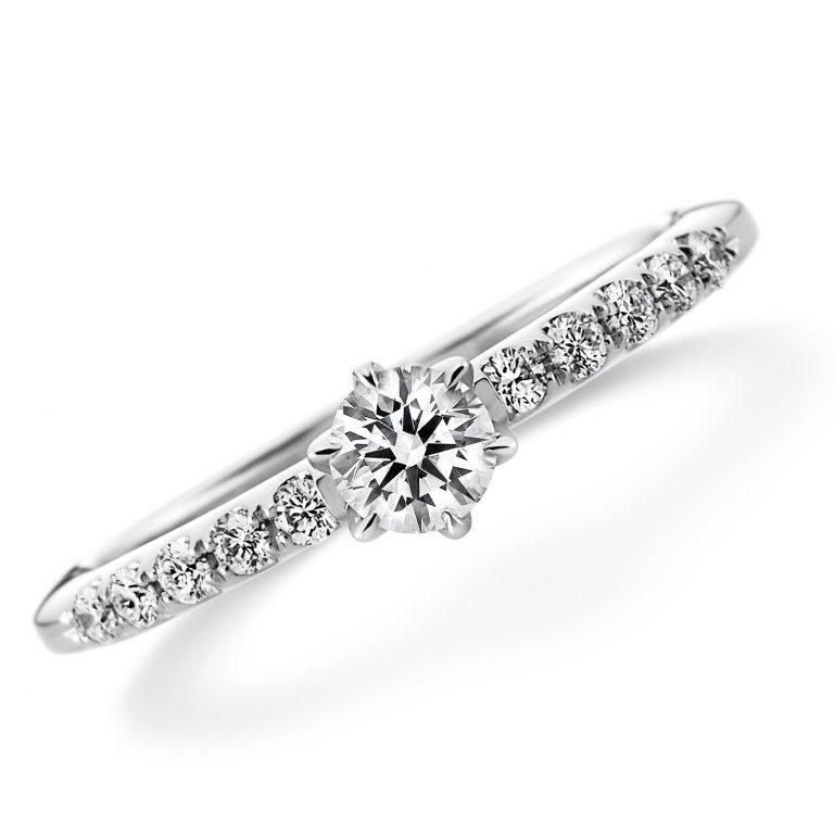 ラザールダイヤモンド婚約指輪(エンゲージリング)画像