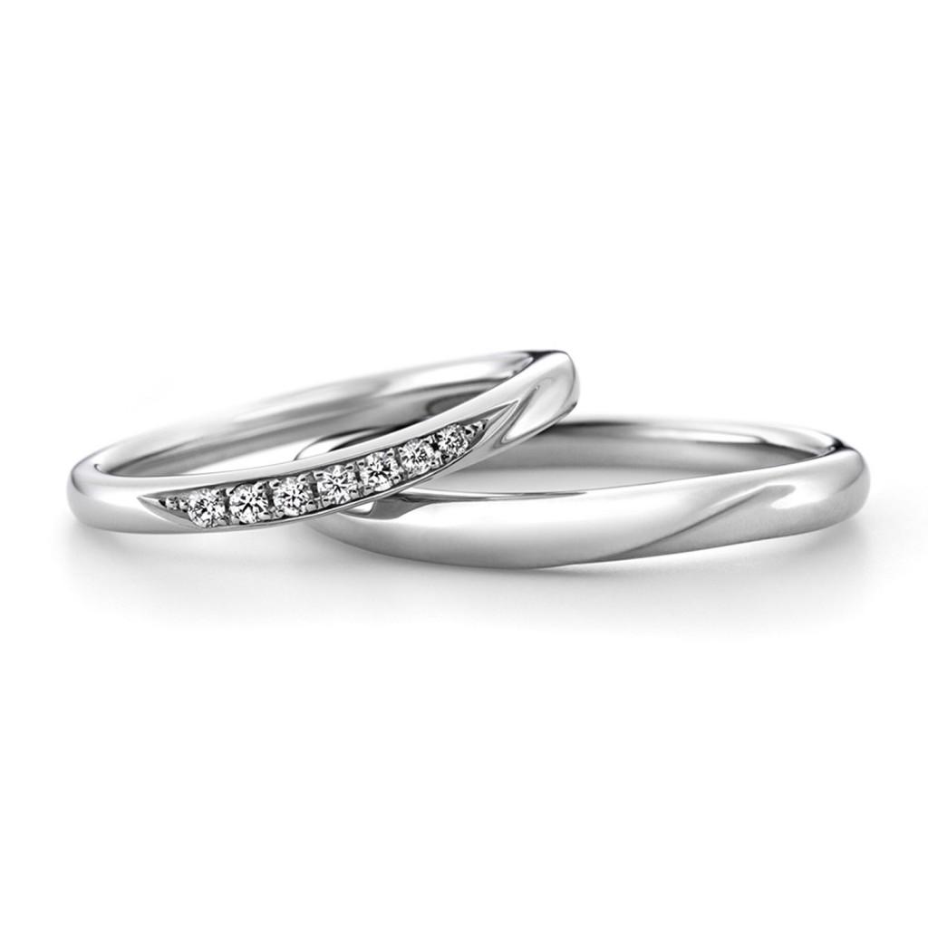 ラザールダイヤモンド結婚指輪(マリッジリング) カシオペア画像