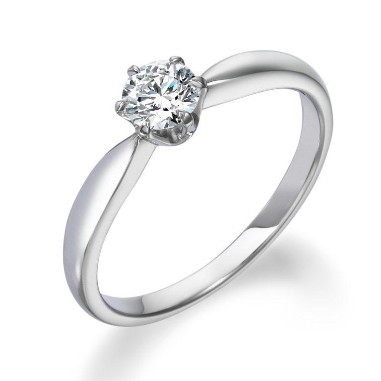 ロイヤルアッシャー婚約指輪(エンゲージリング) ERA260画像