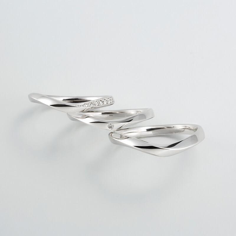 プリズム 結婚指輪