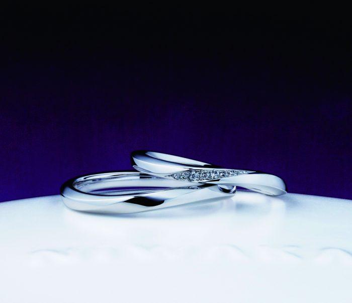 朝葉のデザインと着け心地が決め手!俄の結婚指輪をご成約 新潟県柏崎市S様・H様