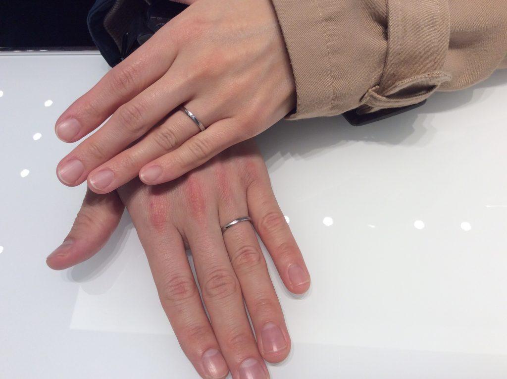 結婚指輪 ロイヤルアッシャーをご成約いただきました/新潟市K様&C様