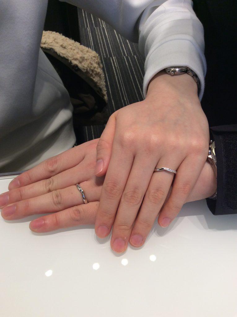 【婚約指輪 結婚指輪】ロイヤルアッシャーをご成約いただきました/R様&M様