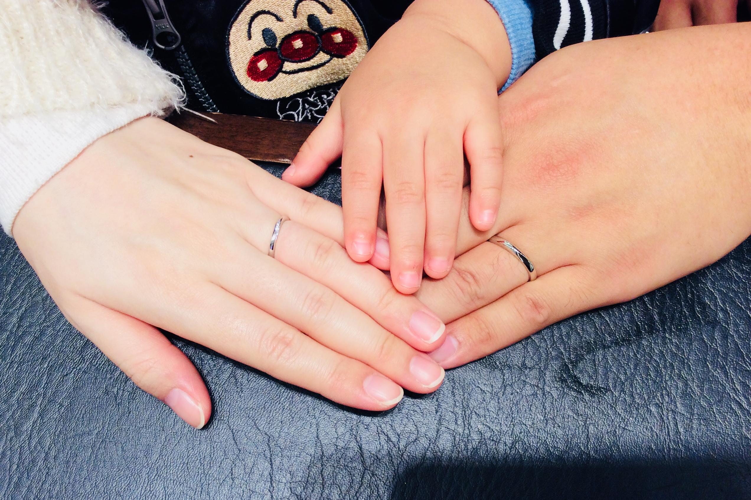「凛&朝葉」俄(にわか)の結婚指輪をご成約/野澤雄大様&黎様