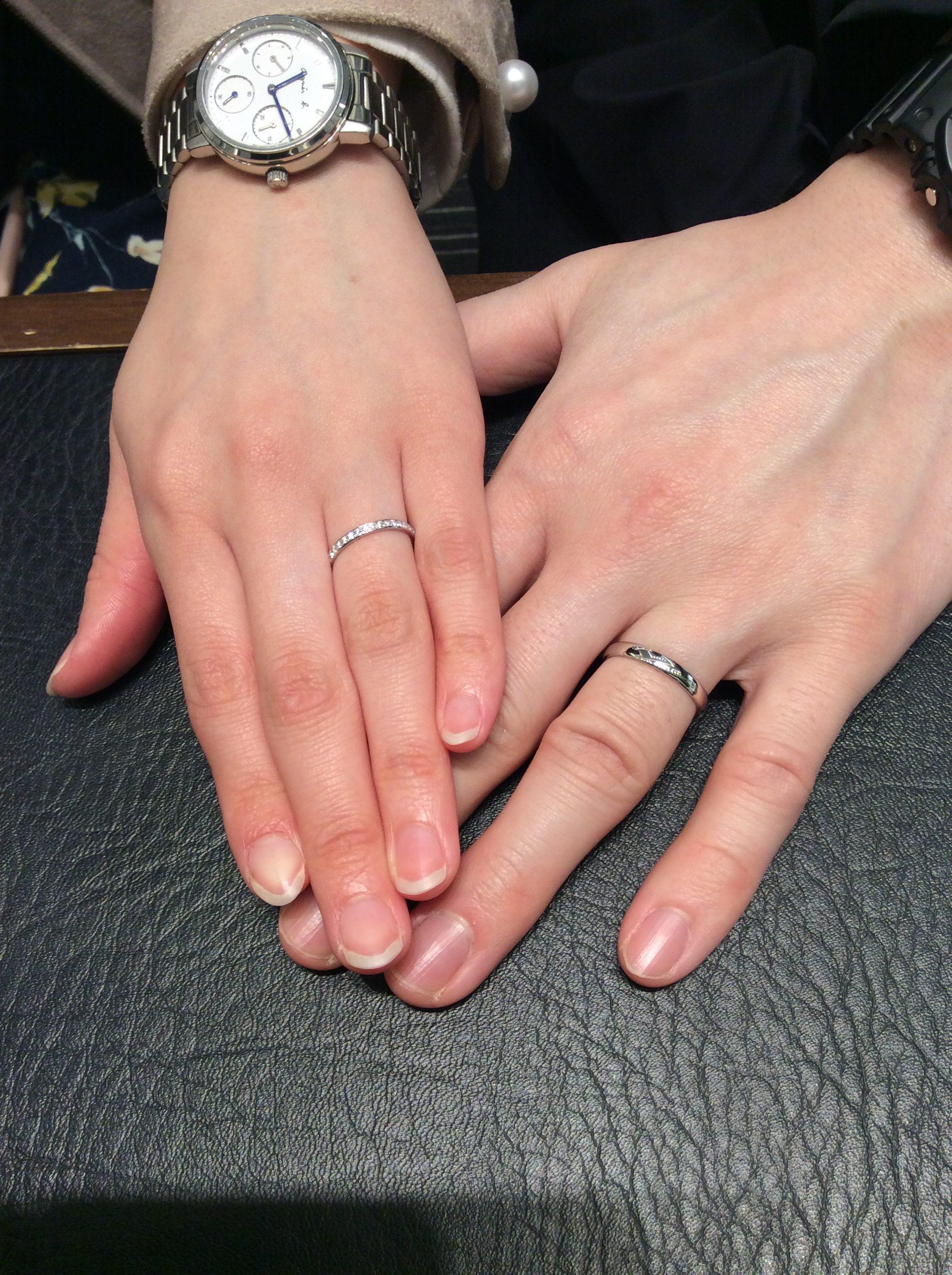 【俄(にわか)の結婚指輪】ことほぎをご成約いただきました/Y様&S様