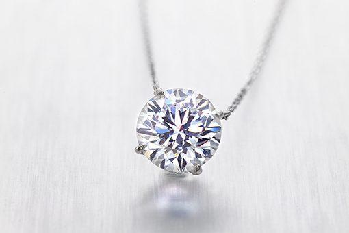 ラザールダイヤモンドの婚約ネックレス