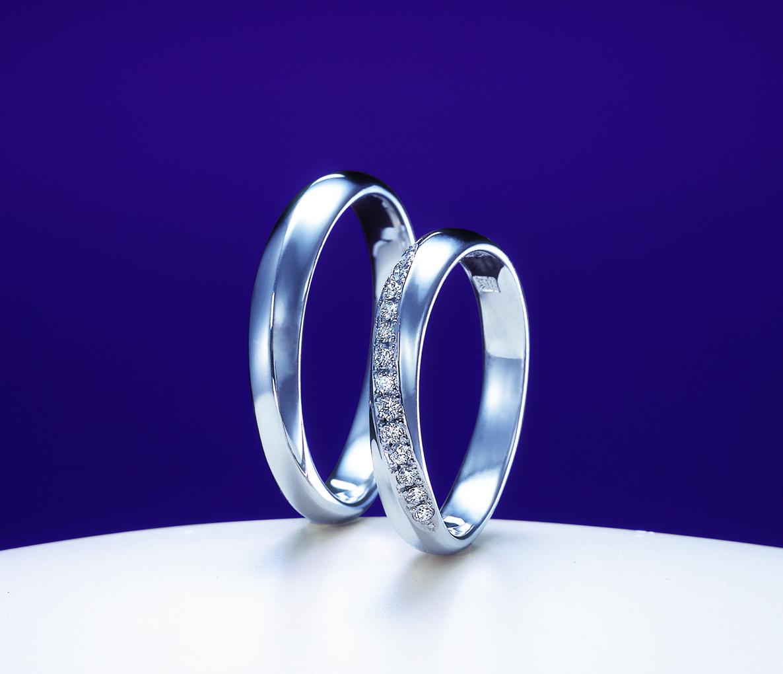 俄(にわか)結婚指輪(マリッジリング) 綺羅(きら)画像