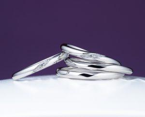 俄の結婚指輪「ことのは」