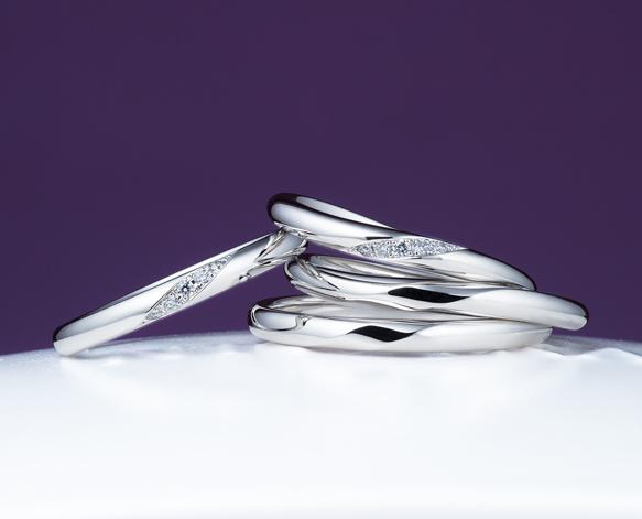 俄(にわか)結婚指輪(マリッジリング) ことのは画像