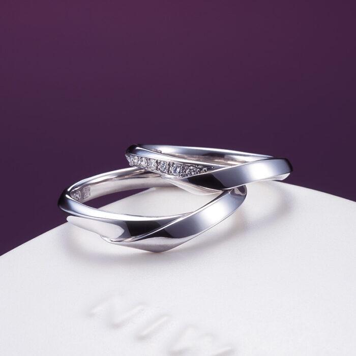 俄 にわか 結婚指輪 単衣