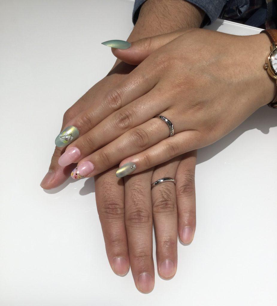 (にわか)結婚指輪 凛(りん)