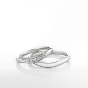 ロイヤル・アッシャー V字・U字の結婚指輪