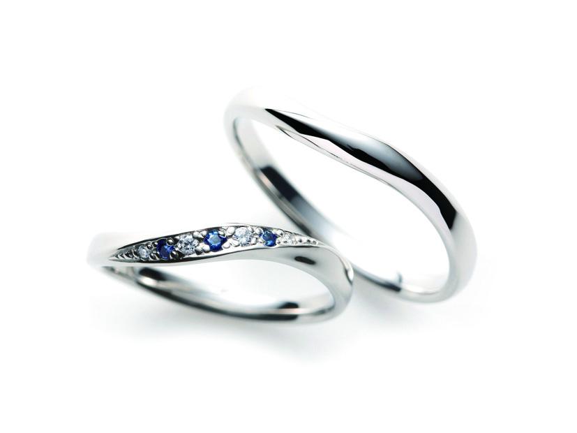 SO ブルーサファイア 結婚指輪