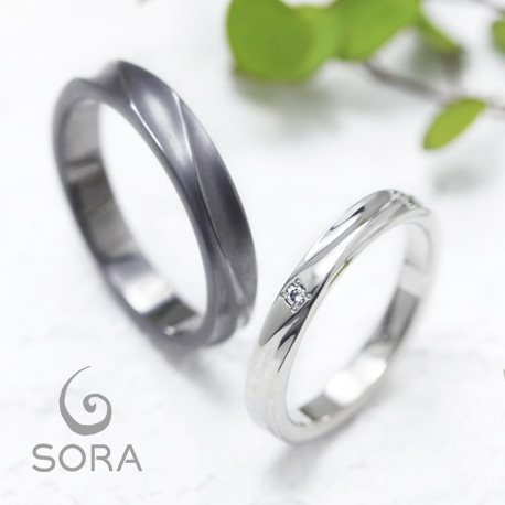 SORA 結婚指輪 マーマー