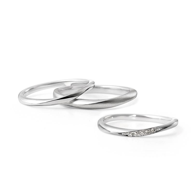 ルシエの結婚指輪「リファージュ」