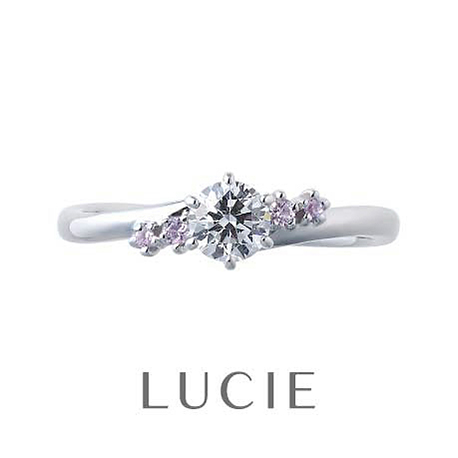 LUCIE(ルシエ)婚約指輪(エンゲージリング) テンダー画像