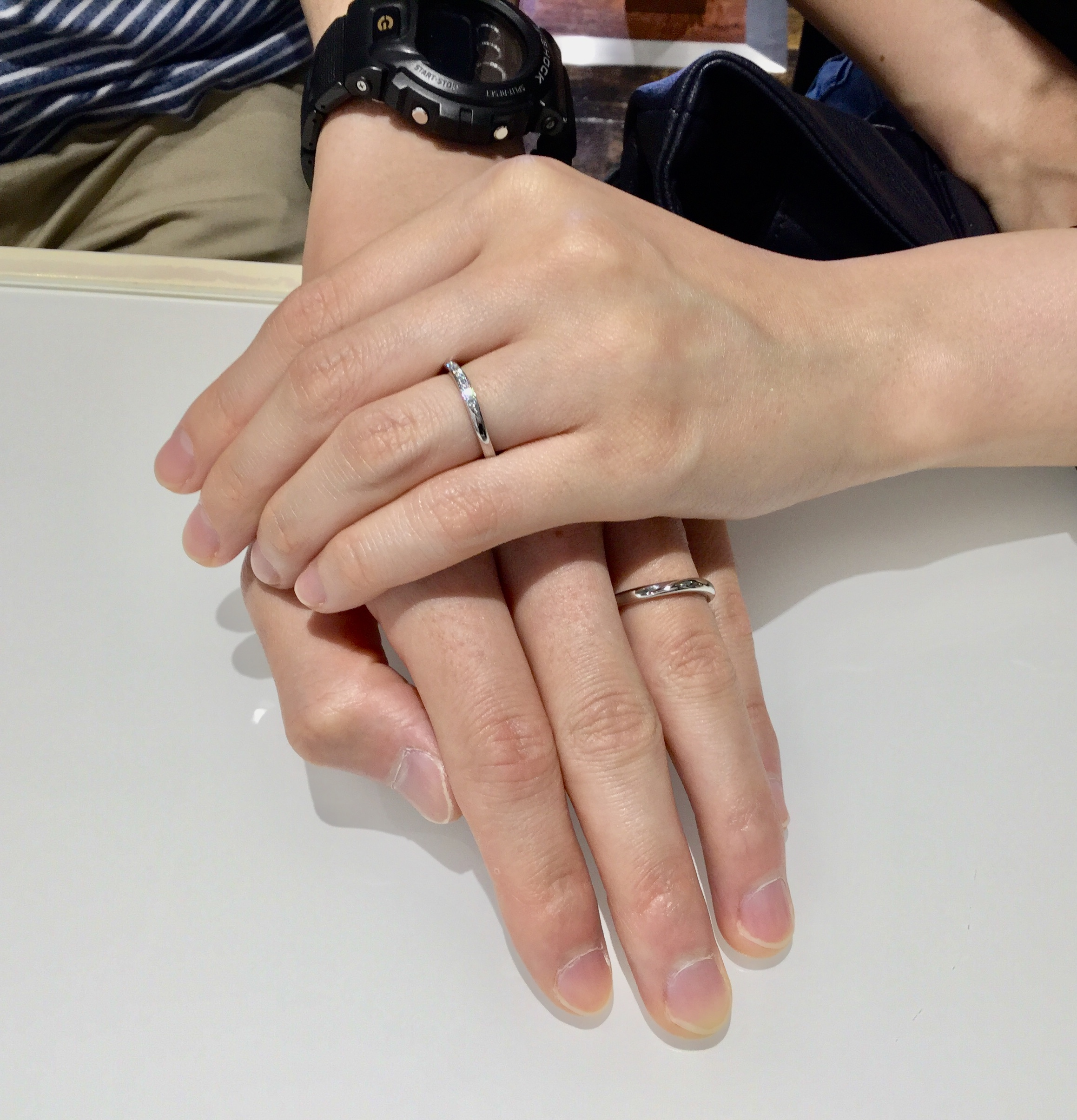 カシオペア 結婚指輪