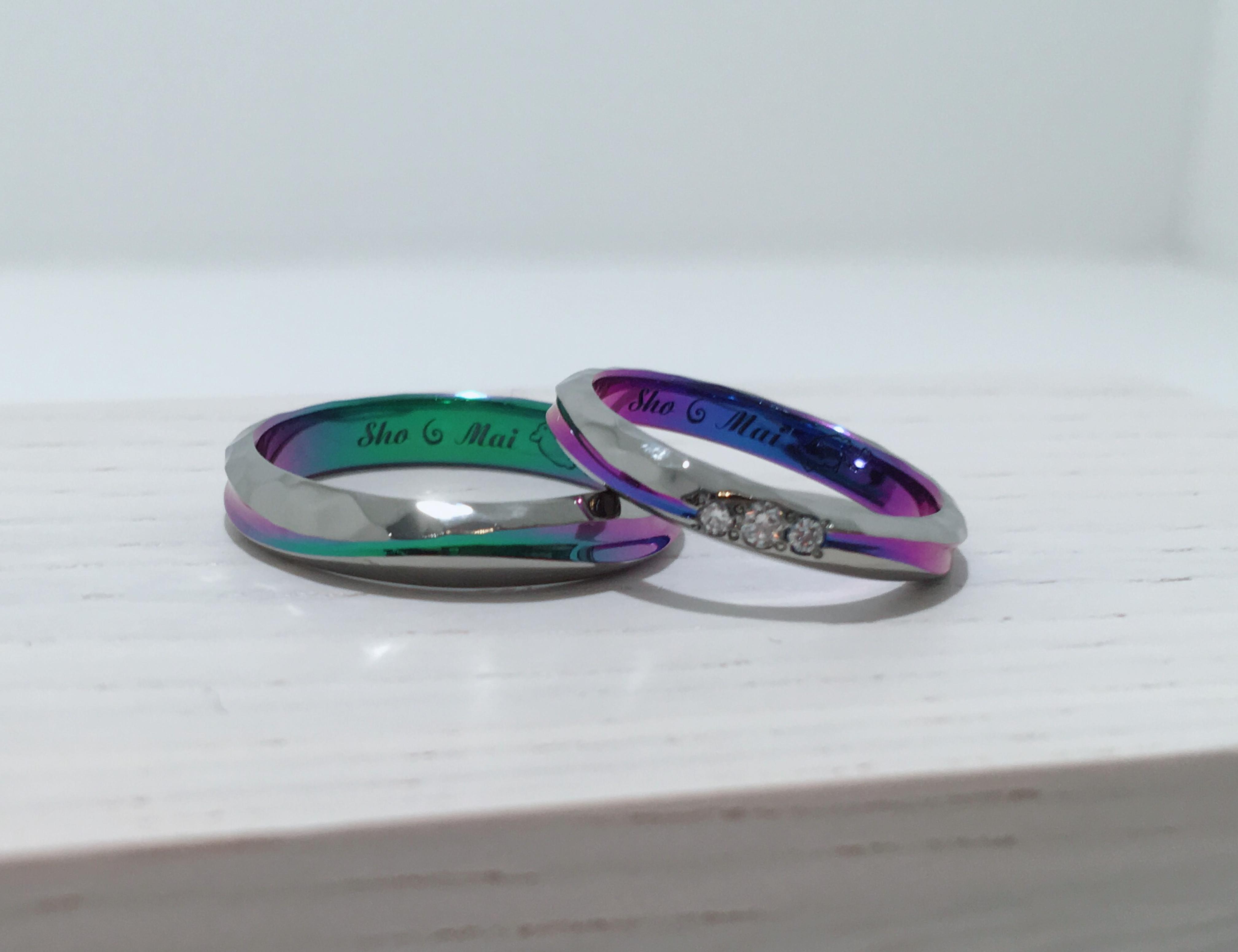 新潟で結婚指輪のオーダーメイド・手作り