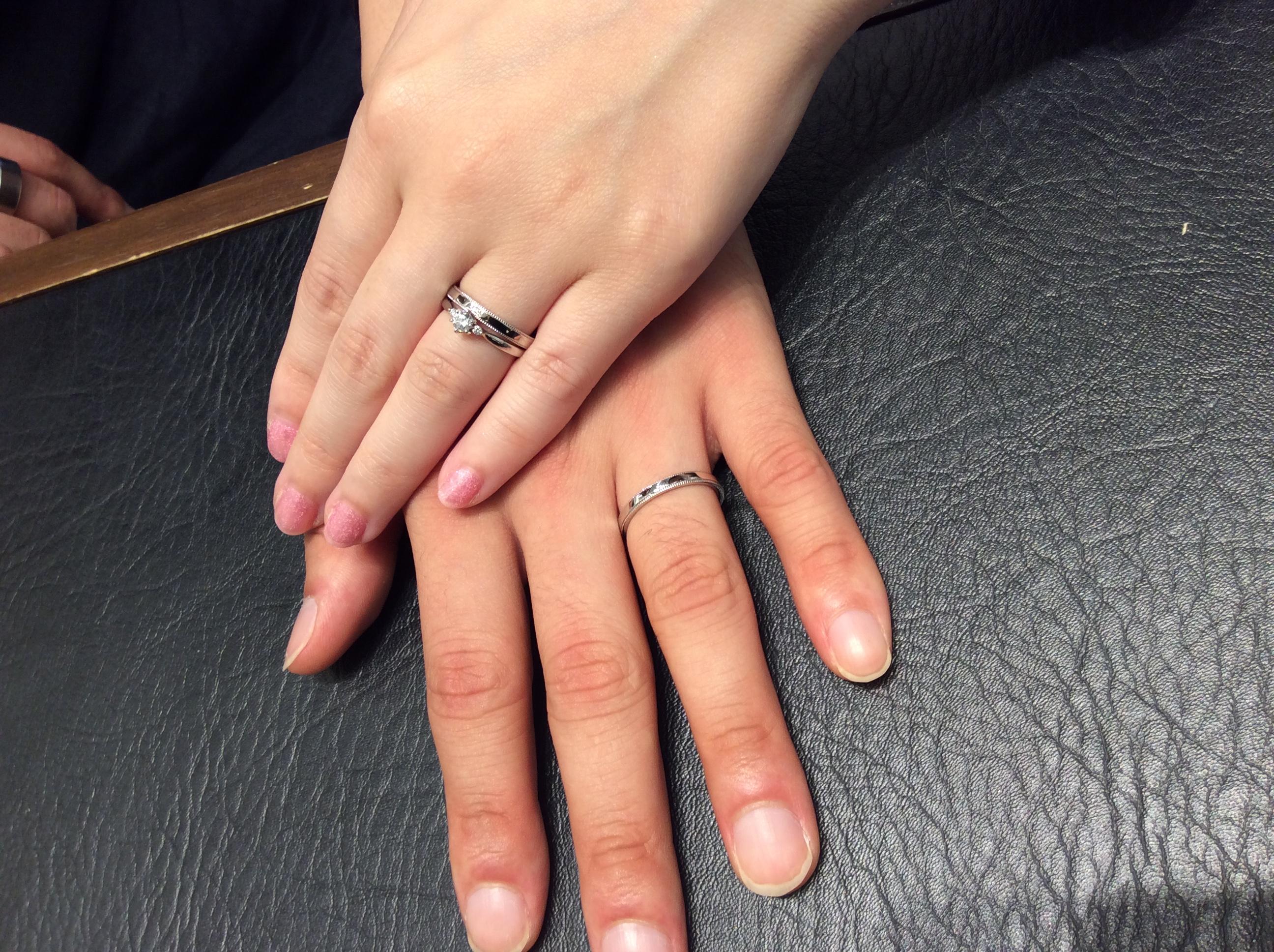 【結婚指輪】「上品さが決め手」 ロイヤルアッシャーをご成約/N様&S様