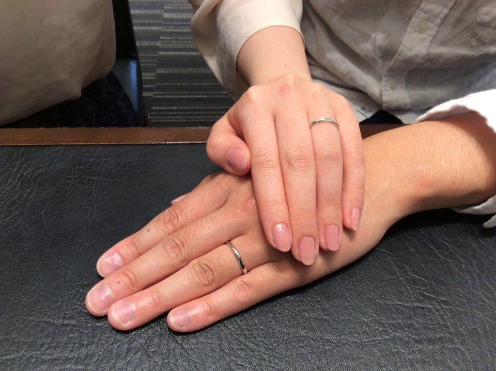 【ルシエの結婚指輪】「リファージュ&セレナーデ」をご成約/R様&Y様ご夫婦