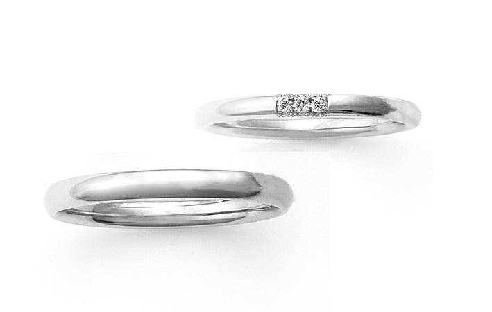 フェアリープラチナムの結婚指輪