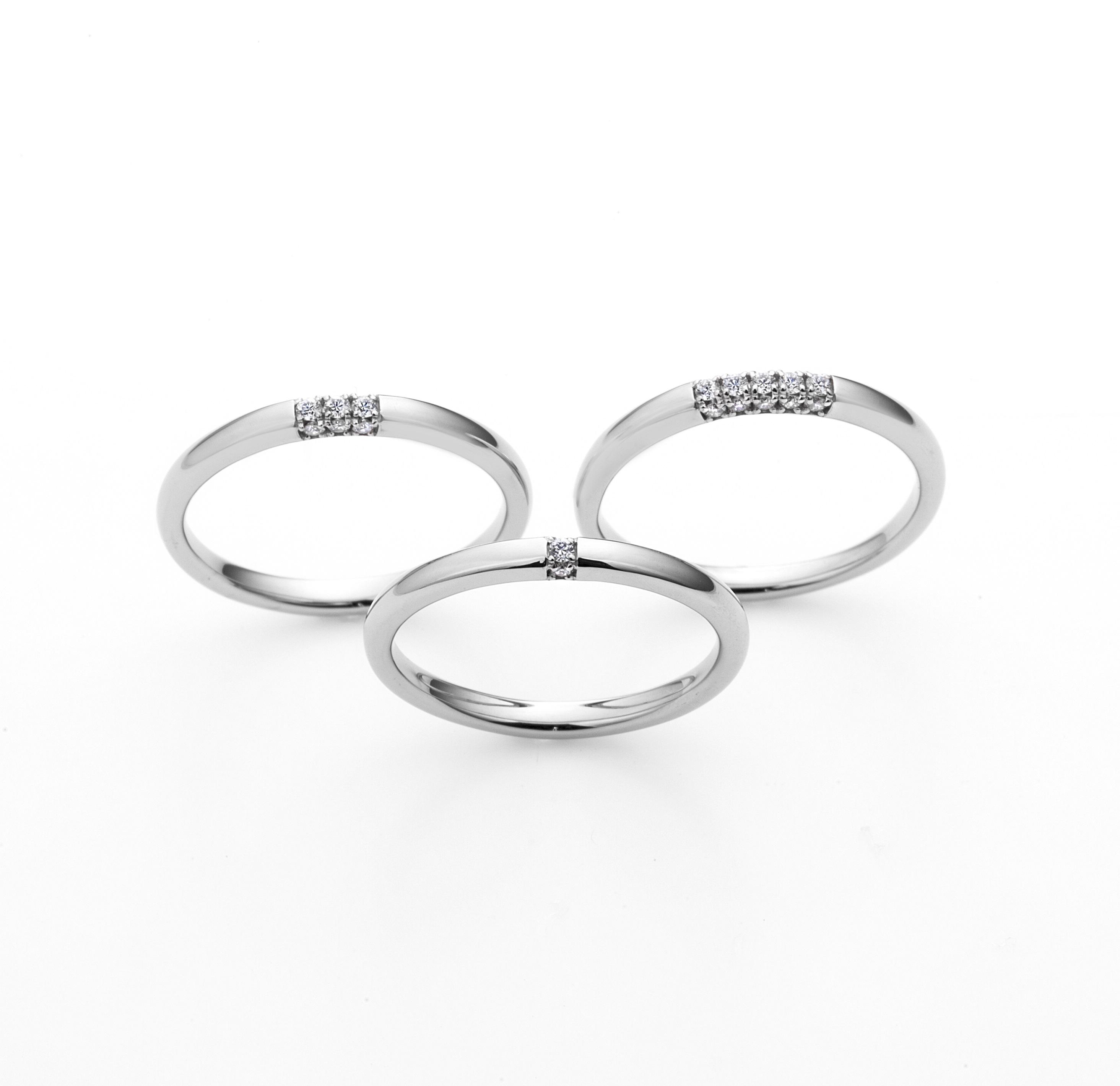 ラザールダイヤモンド結婚指輪(マリッジリング) FH004PR画像
