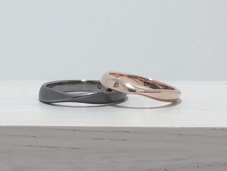 大自然をモチーフにした結婚指輪・SORAのコトーをご成約|新潟県佐渡市誠様・睦美様