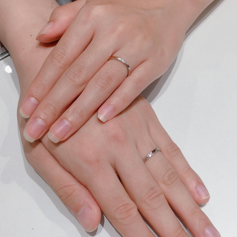 ノクルの結婚指輪をご成約。新潟市K様M様