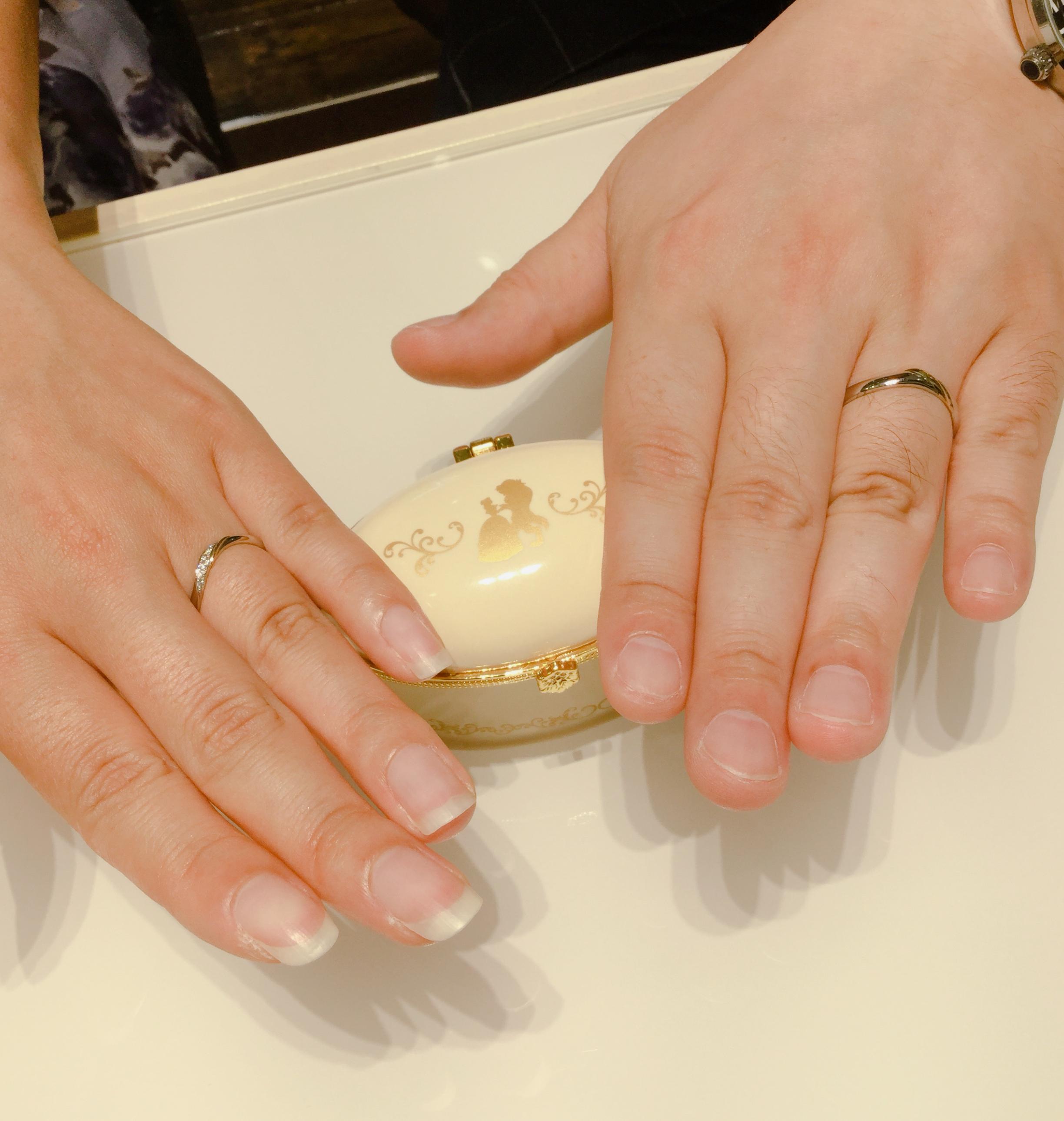 美女と野獣 結婚指輪