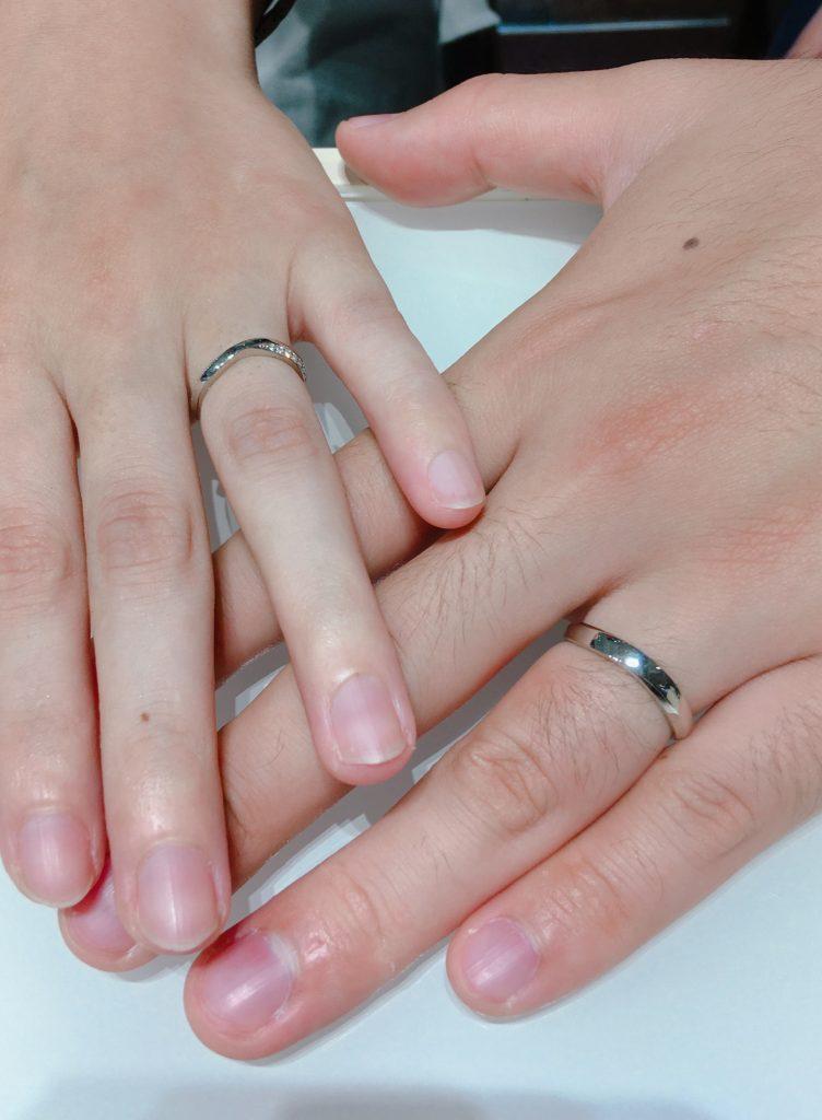 茜雲 結婚指輪 新潟