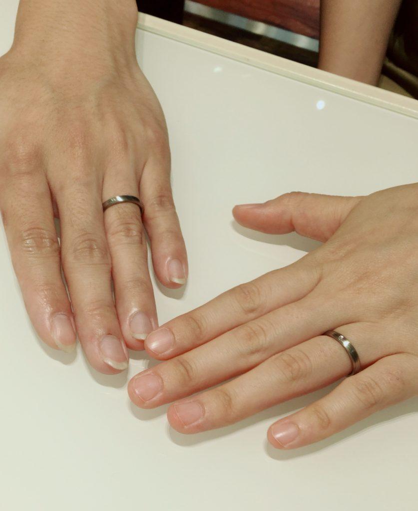 京杢目 長閑 結婚指輪