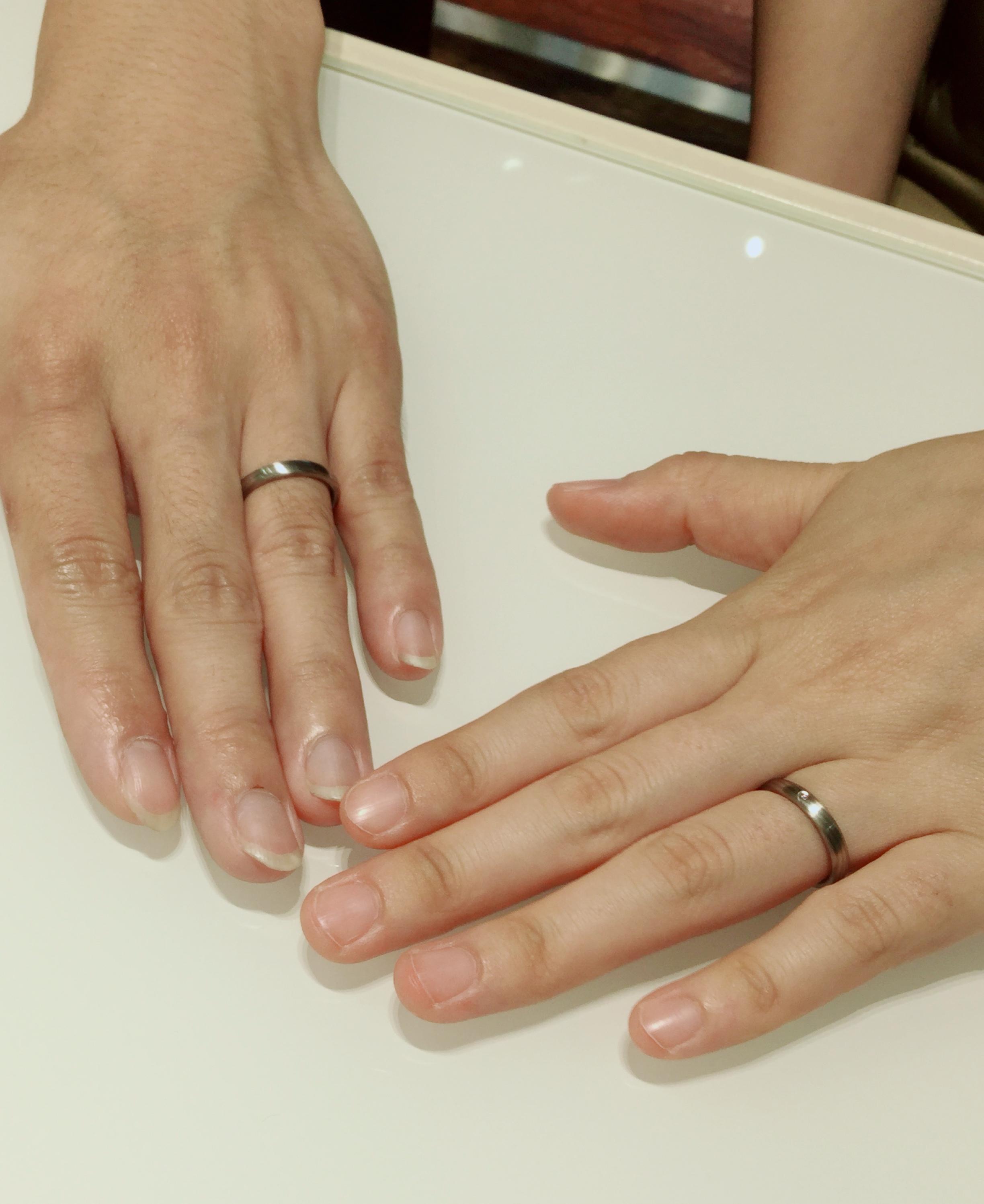 京杢目(きょうもくめ)・長閑(のどか)の結婚指輪をご成約|新潟市S様・M様