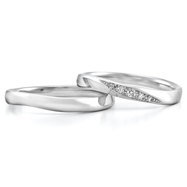 ロイヤルアッシャー結婚指輪(マリッジリング) WRA027 WRB037画像