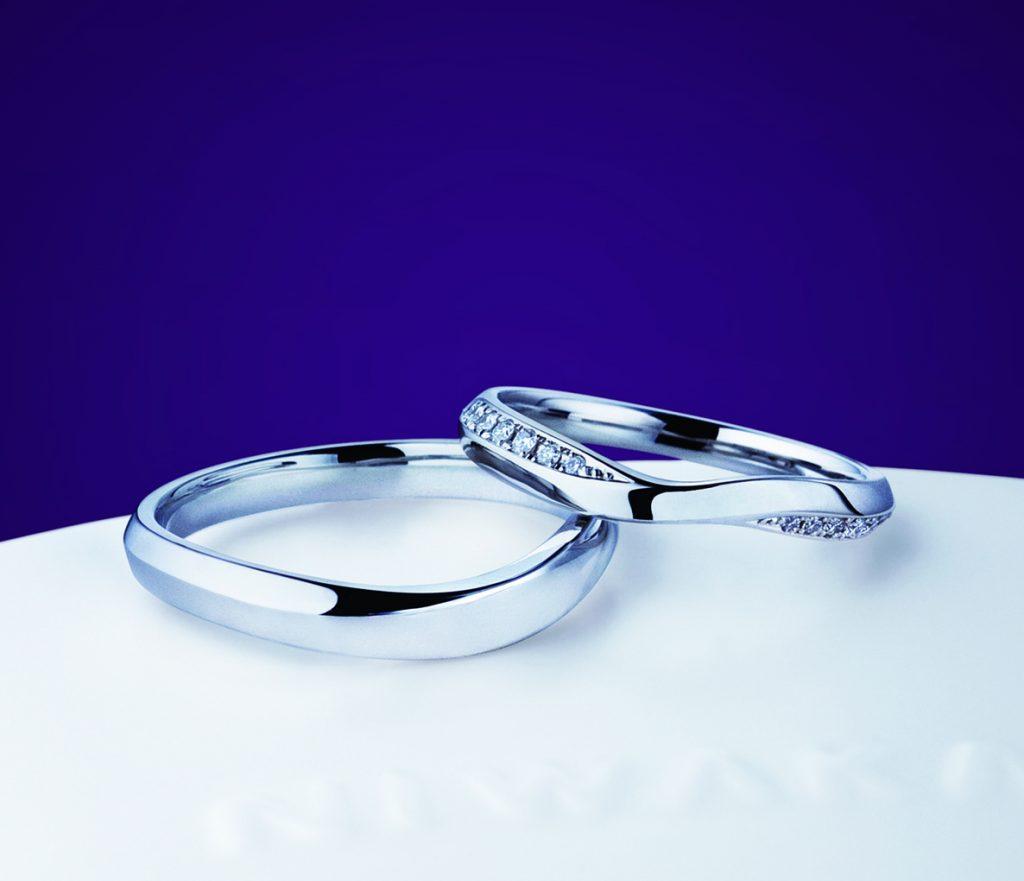 俄(にわか)結婚指輪(マリッジリング) 茜雲(あかねぐも)画像