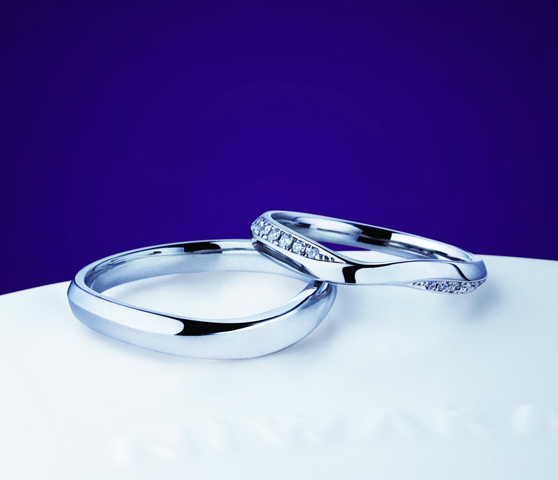俄 結婚指輪 茜雲