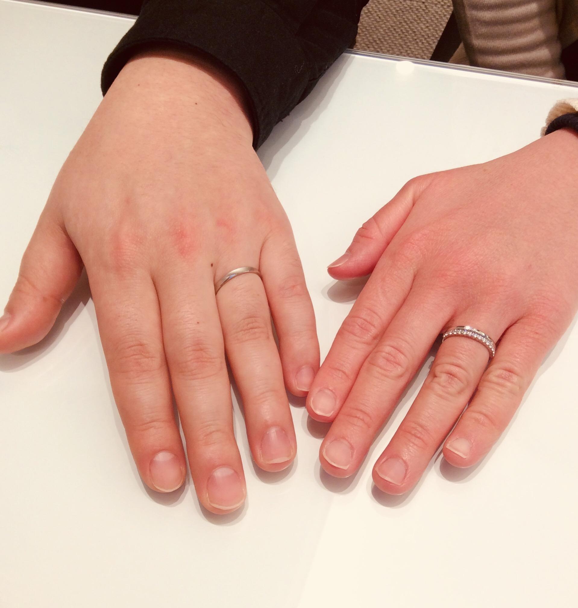 【婚約指輪 結婚指輪】ロイヤルアッシャー&ラザールをご成約/T様&E様