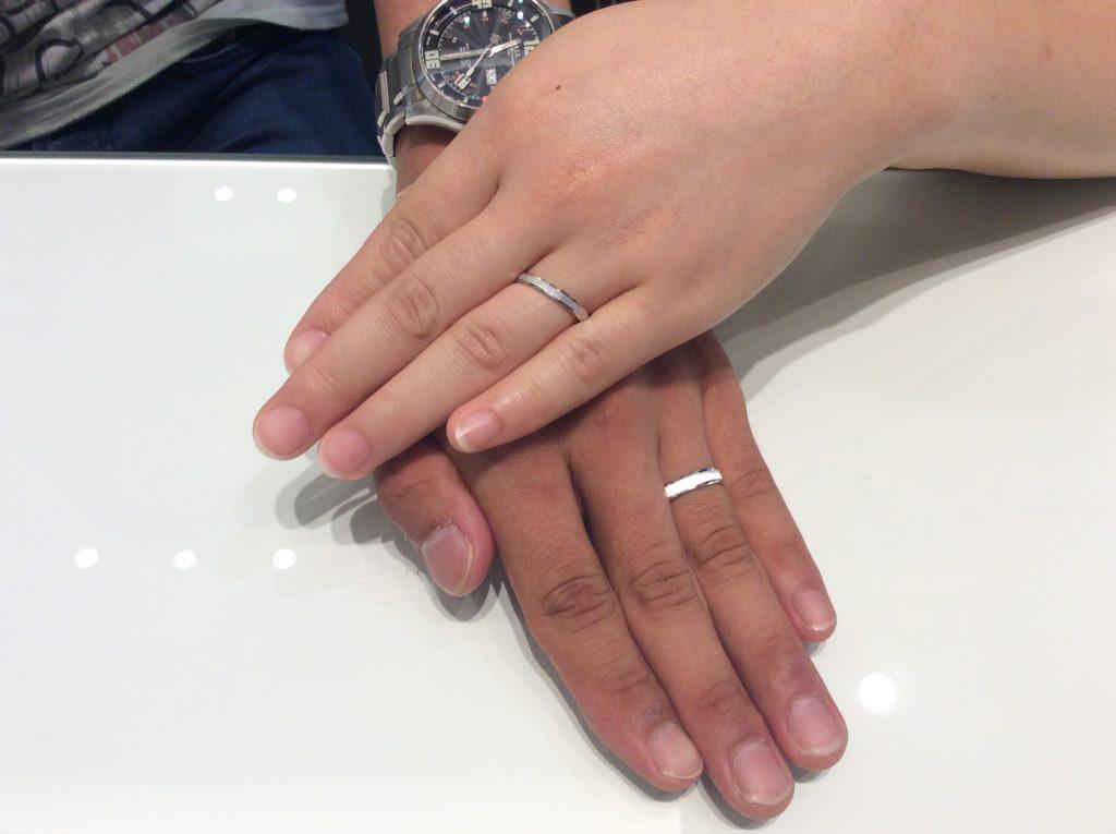 フィッシャーの結婚指輪をご成約/見附市D様&M様ご夫婦