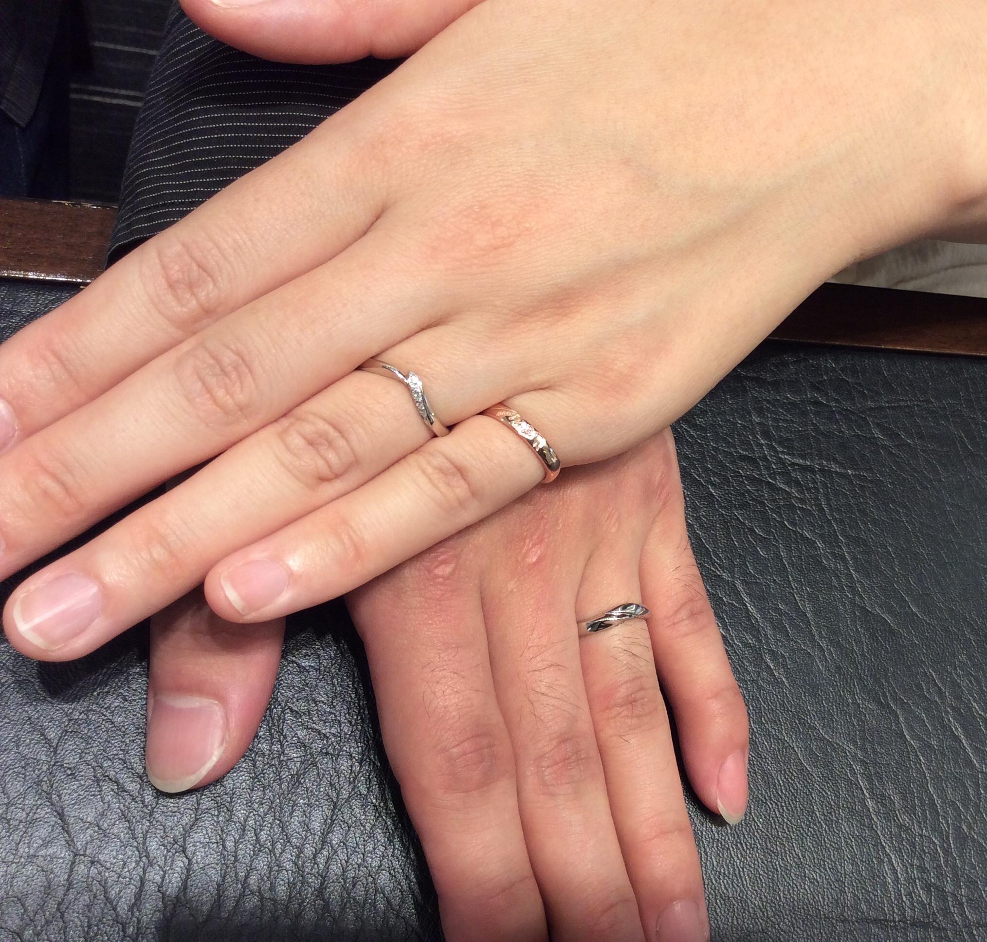 【俄(にわか)の結婚指輪】初桜をご成約いただきました/J様&S様ご夫婦
