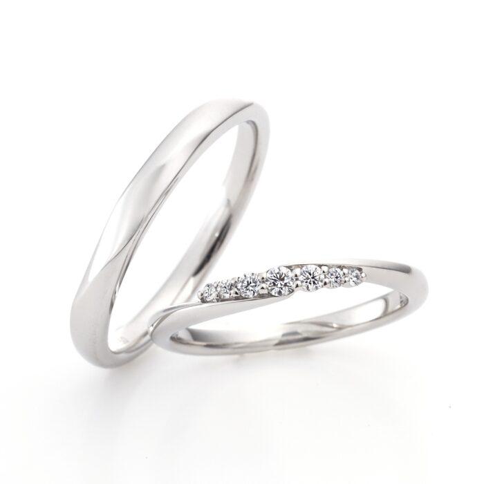 ラザールダイヤモンドの結婚指輪 カリーナ