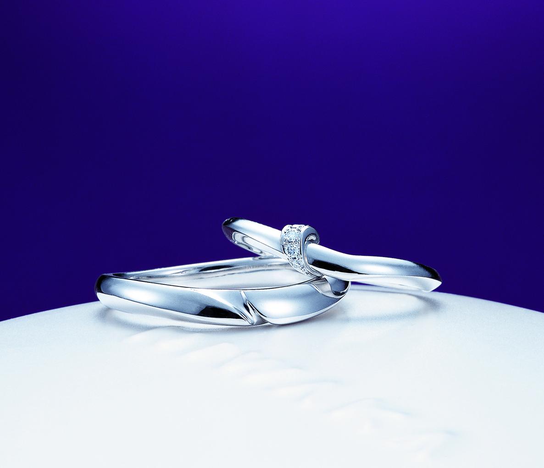 俄(にわか)結婚指輪(マリッジリング) 結(ゆい)画像