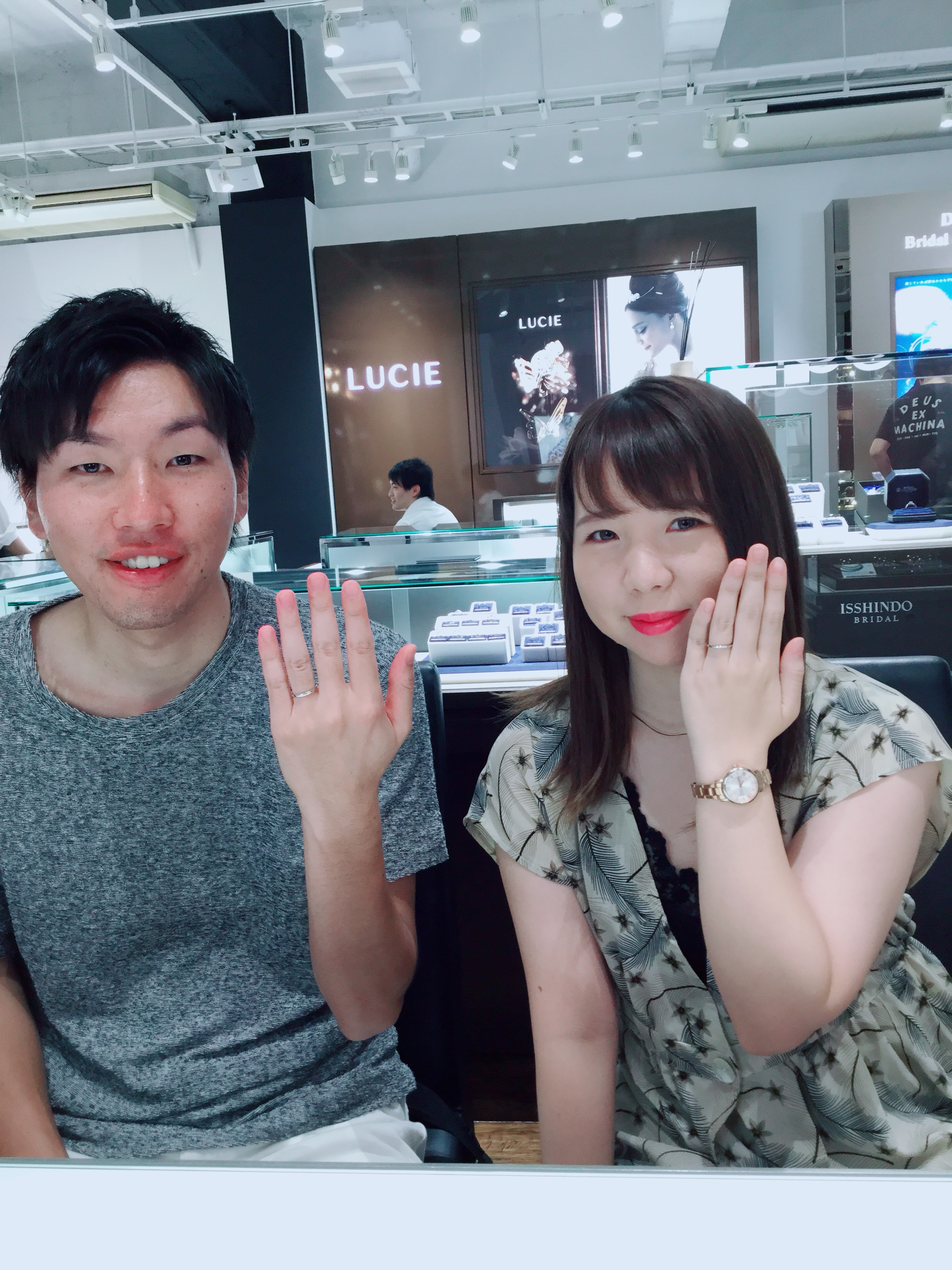 【ラザールダイヤモンドの結婚指輪】フェアリープラチナムをご成約 新潟市K様・A様