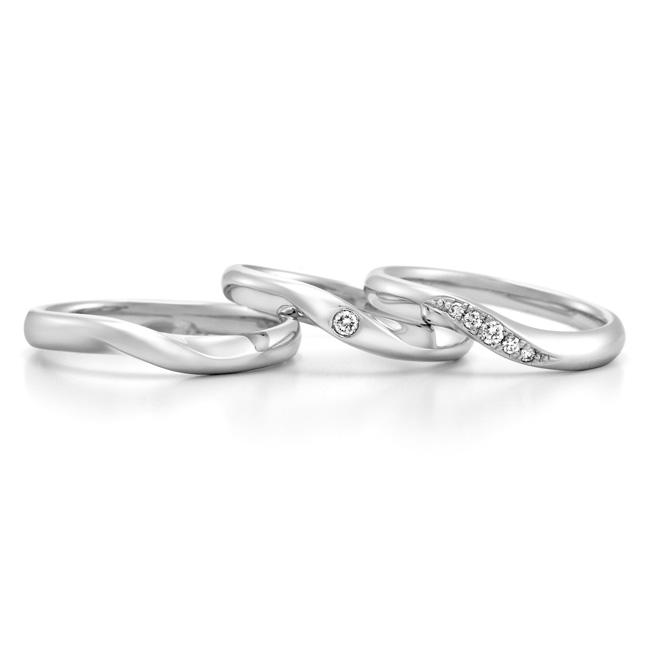 ロイヤルアッシャー結婚指輪(マリッジリング) WRB013画像