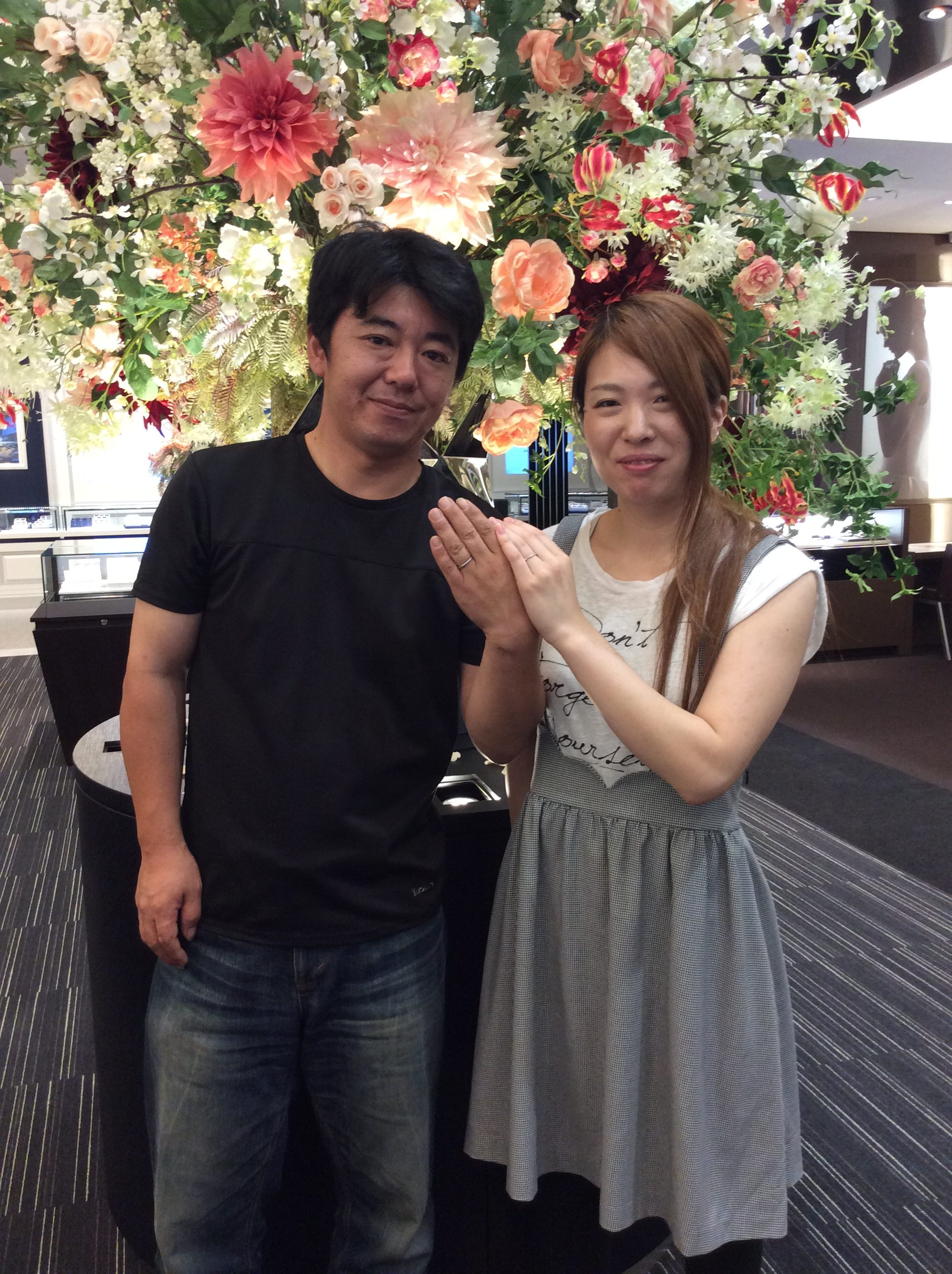 一目惚れでした【ルシエの結婚指輪】アリアをご成約/燕市T様&Y様ご夫婦