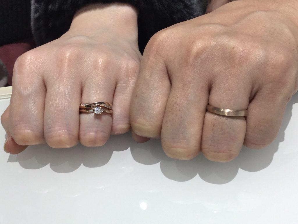 「自分たちの思いや願いを形に」俄(にわか)の茜雲(結婚指輪)をご成約/A様&M様