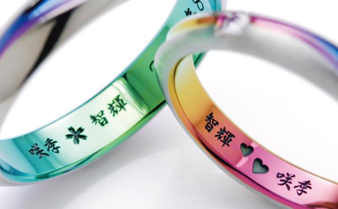 結婚指輪の刻印|人気のメッセージと個性的なオリジナルマークで二人だけの想いを込めて