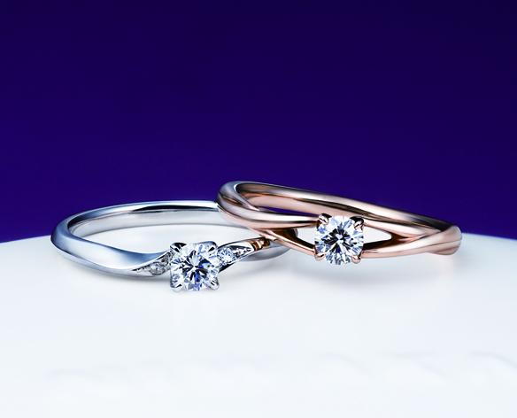 俄(にわか)婚約指輪(エンゲージリング) ことのは画像